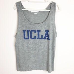 Vintage UCLA Gray & Blue Tank Top